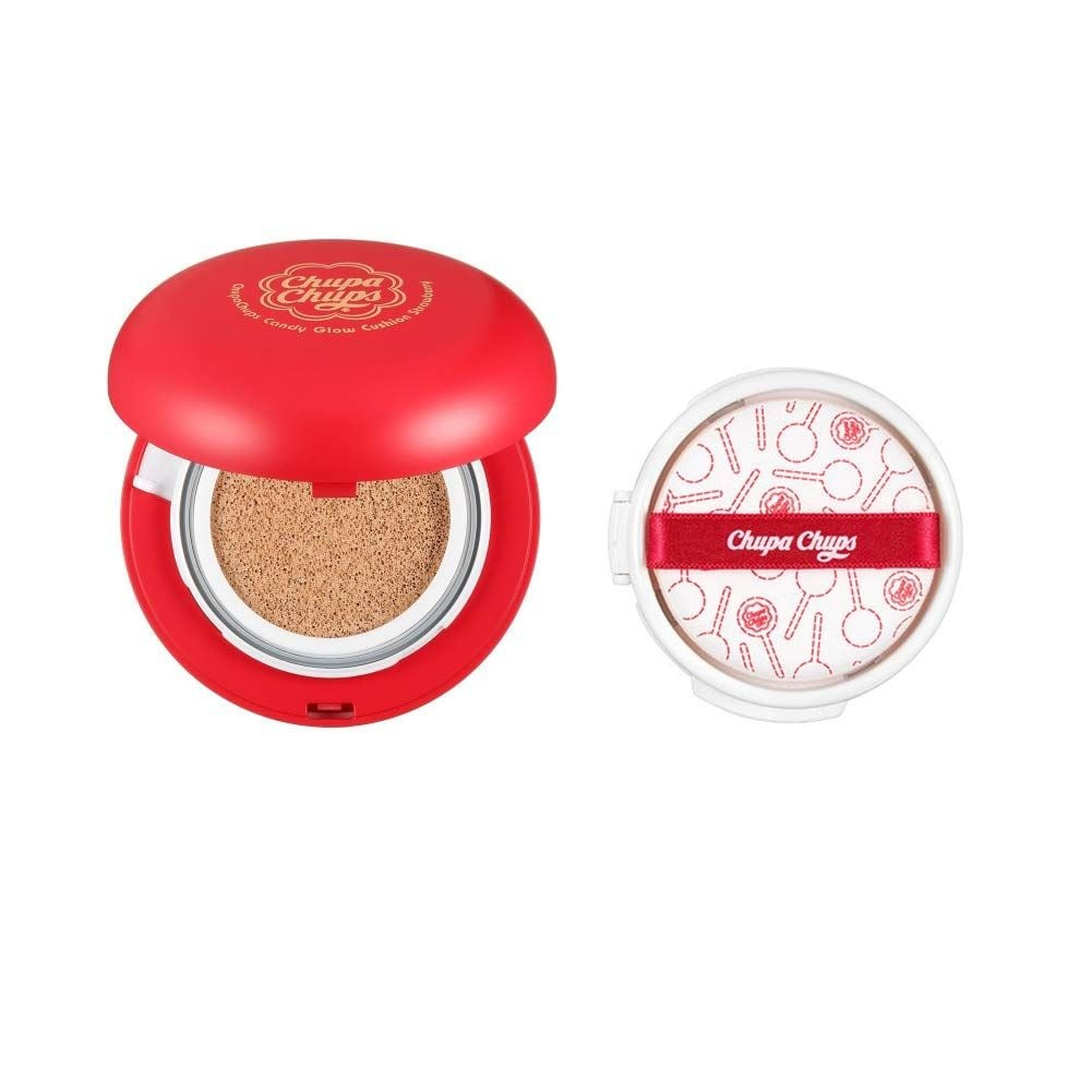 Матирующий кушон для лица  — Chupa Chups Candy Glow Cushion Strawberry